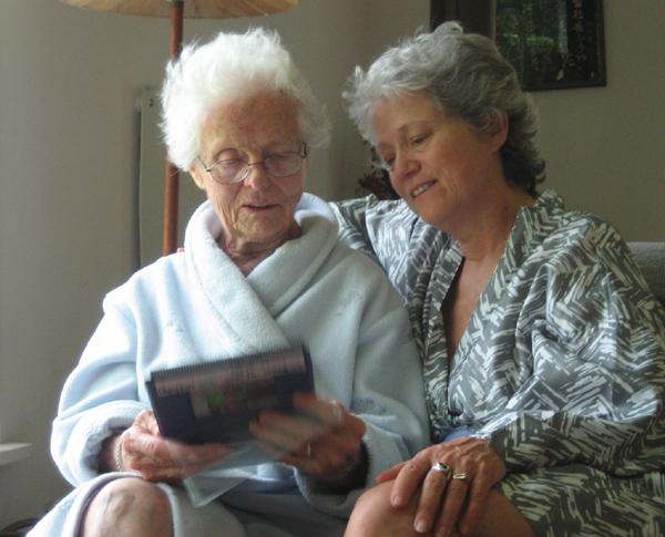 Angela & Nancy, 2007