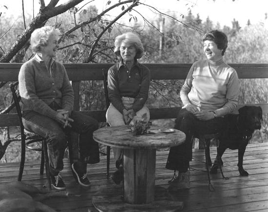Nancy, Becca and DJ