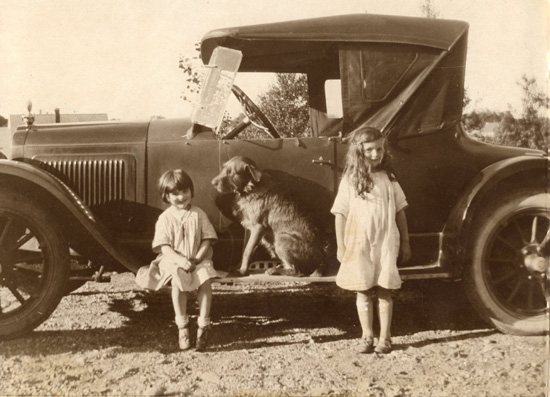 Becca, Rags and Nancy c.1923