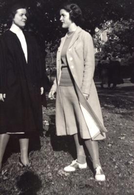 Nancy & Becca, Nancy's graduation