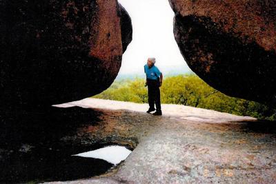 Nancy between the rocks